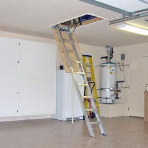 compact attic ladder